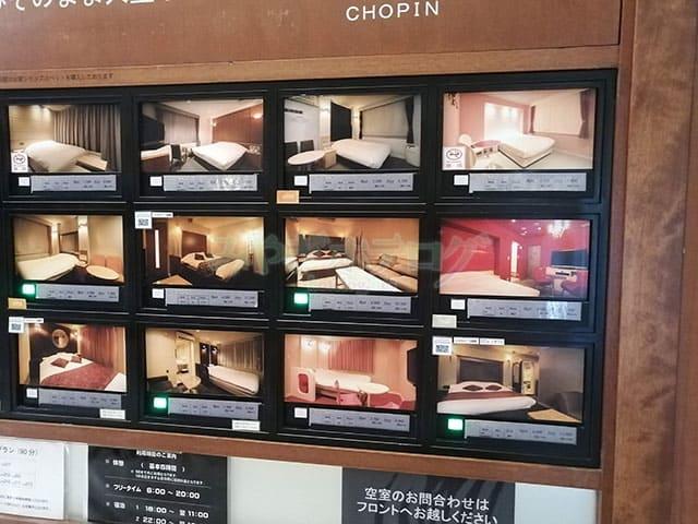 仙台 ホテルショパン
